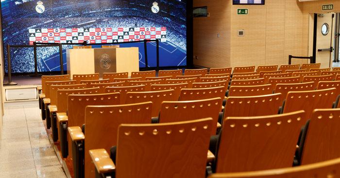 Tour al Bernabéu y Museo del Real Madrid - Sala de prensa