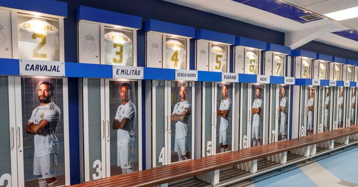 Tour al Bernabéu y Museo del Real Madrid - Vestuario
