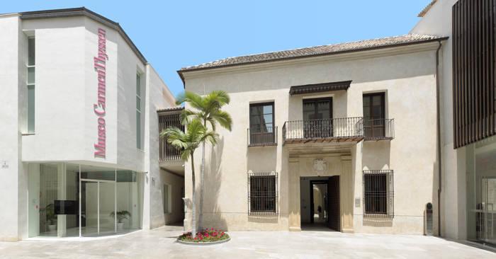 Carmen Thyssen Museum Malaga - Entrance