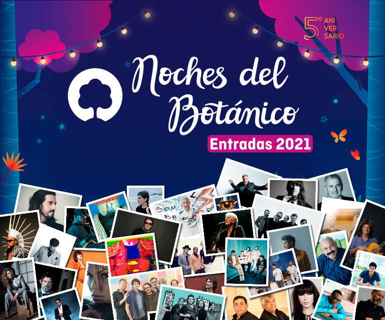 Festival Noches del botánico 2021