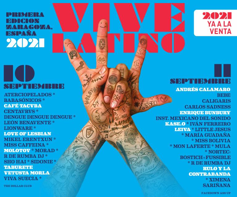 Entradas Festival Vive Latino 2021
