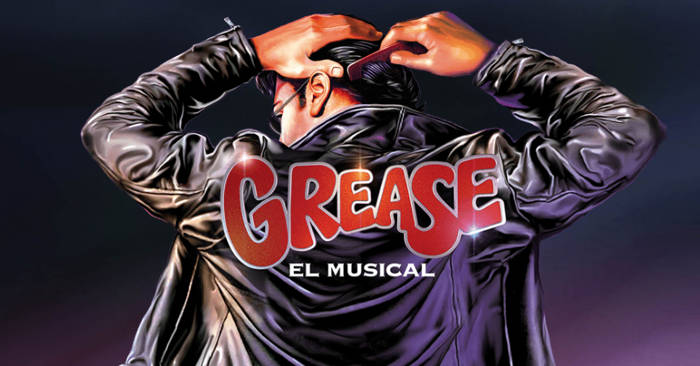 Grease, el musical - Portada