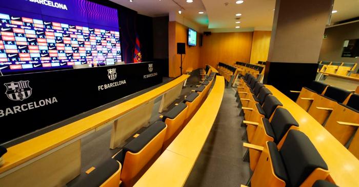Camp Nou Experience - Sala de prensa