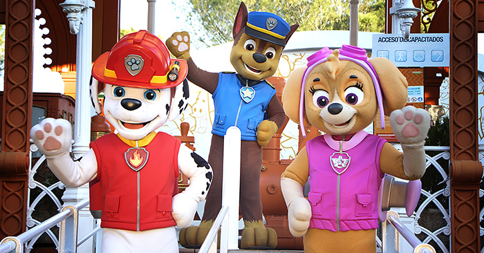 Amussement Park of Madrid - PAW Patrol