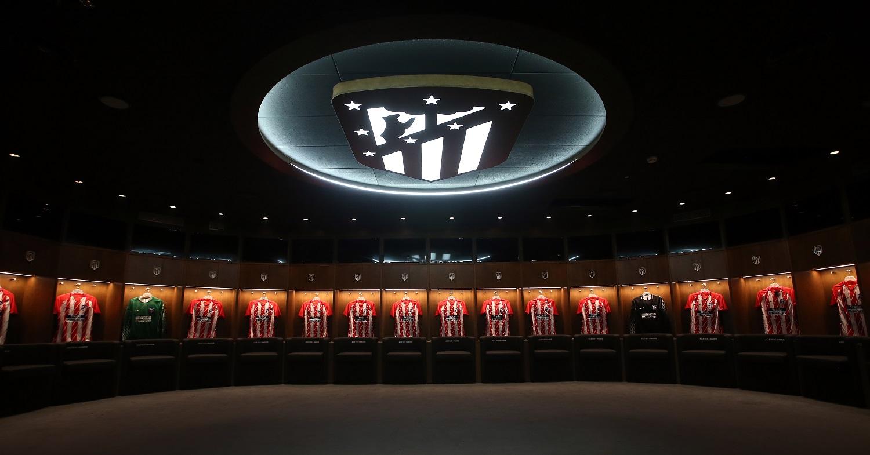 Wanda Metropolitano Tour - Locker Room