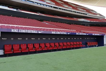Wanda Metropolitano Tour - Bench