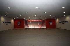 Wanda Metropolitano Tour - The tunnel