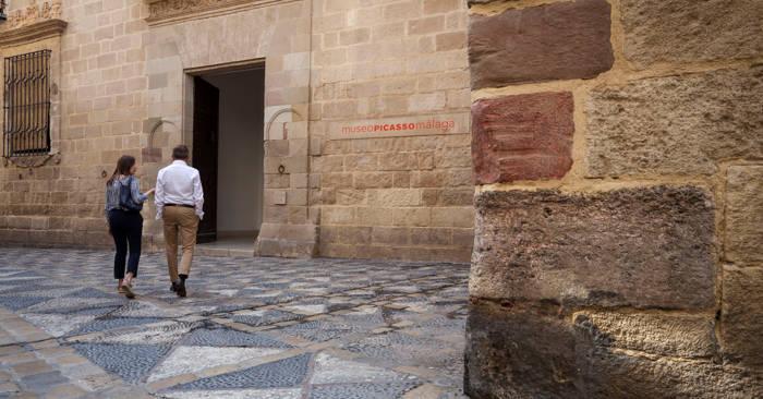 Picasso Museum Malaga - Entrance