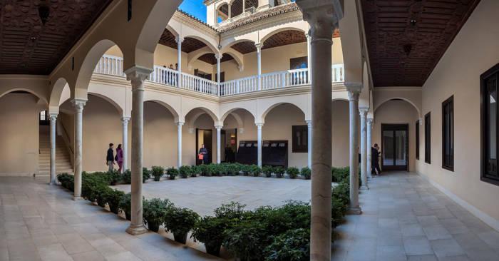 Picasso Museum Malaga - Inside
