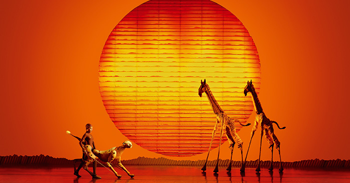 Lion King - Giraffes